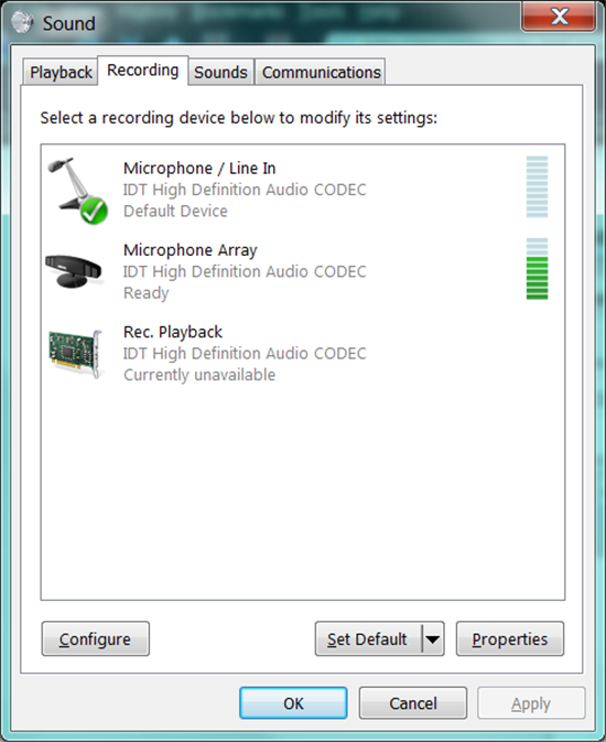 audio is not working on laptop