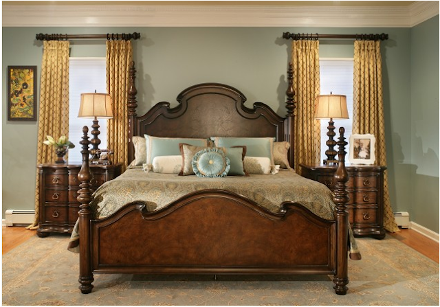 Key interiors by shinay traditional bedroom design ideas for Classic american decorating style