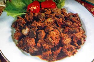 Resep Masakan Rendang Minyeuk Masakan Aceh