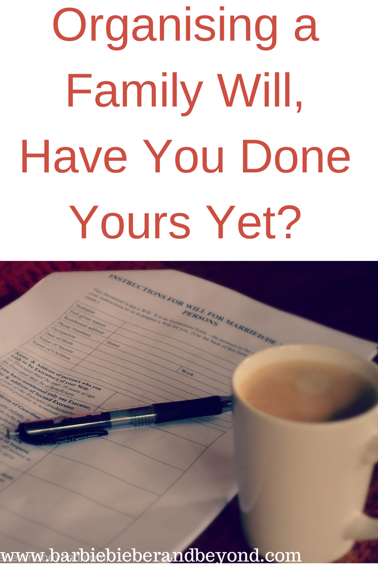 How To Organise A Will