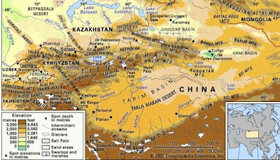 diaforetiko.gr : Conspiracy+Feeds+(2) Μυστηριώδης Αρχαίος Κόσμος είναι θαμμένος κάτω από τη έρημο Τάκλα Μακάν!!!