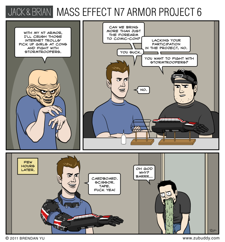 Mass Effect N7 Armor Project 6