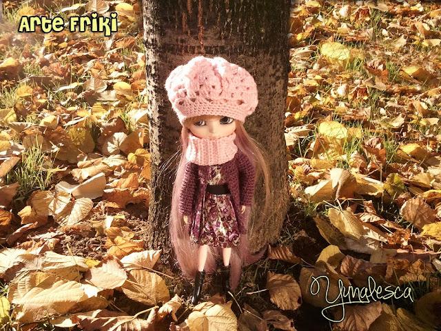 pullip banshee crochet hat gorro ganchillo abrigo coat