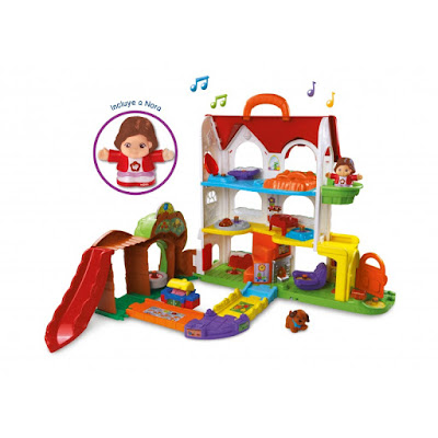 TOYS : JUGUETES - TUT TUT AMIGOS - Mi Casa Mágica  Toot-Toot Friends Busy Sounds Discovery Home Producto Oficial | Vtech 2015 | Edad: 1-5 años Comprar en Amazon España