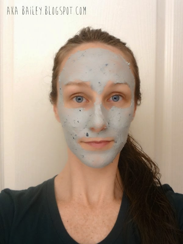 Trying out LUSH's Catastrophe Cosmetic face mask