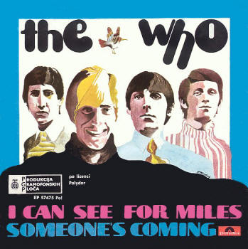 Portada de single I can see for miles de The Who