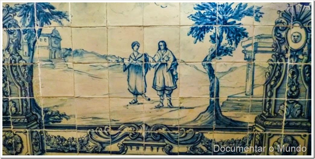 Capela; Palácio dos Marqueses de Minas; Azulejos Portugueses