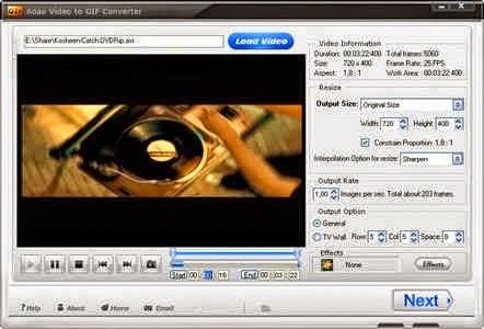 Aoao Video to GIF Converter 3.3 download