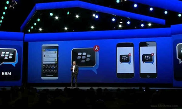 BBM for Android, iPhone, dan iPad
