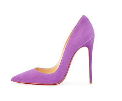 Christian Louboutin So Kate High heeled pumps in purple