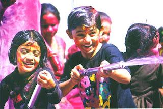 Kids Celebrating at Panoramic Resort Karnala