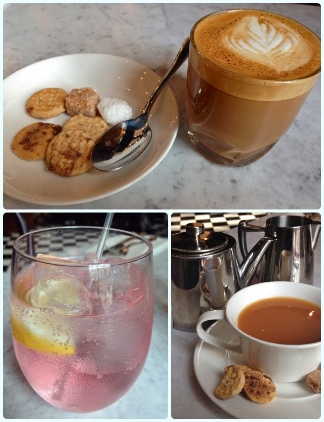 Rosylee Tea Rooms, Manchester - Drinks