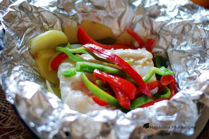 Papillote de merluza y verduras magdalena cocina y m s - Merluza a la papillote ...