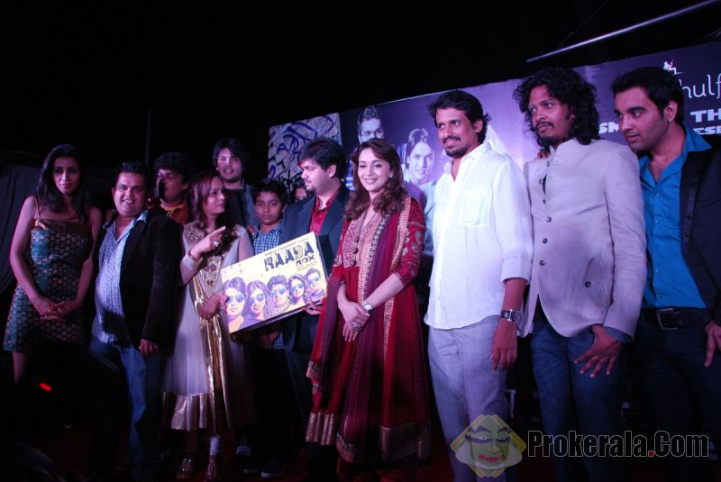 Marathi album 'Raada Rox' is unveiled by Madhuri Dixit
