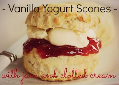 Vanilla Yogurt Scones