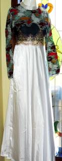 BAJU GAMIS BUSANA MUSLIM TREND LEBARAN  2015 TERBARU Model Baju Gamis Syari Terbaru Edisi Lebaran Idul Fitri 2015