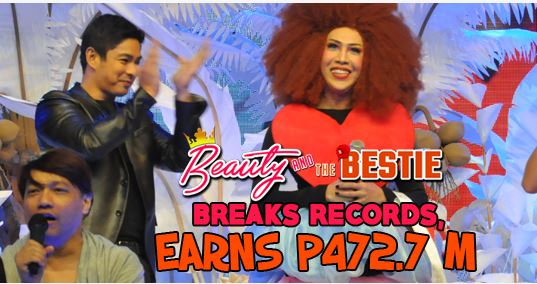 'Beauty and the Bestie' nears P500M-mark, now all-time MMFF top-grosser