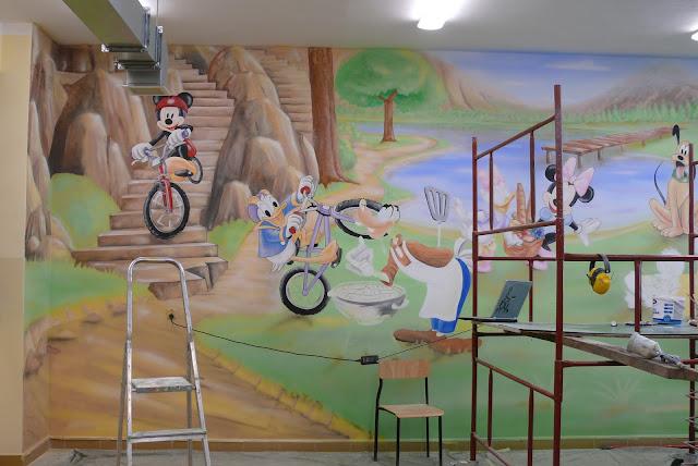 Aranżacja pokoju dziecięcego, dekoracja ściany, Bydgoszcz
