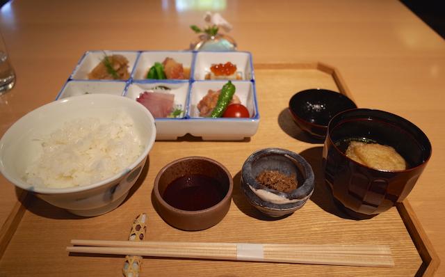 富士山茶屋 - 茶屋膳 花笑(デザート付) ¥1,800