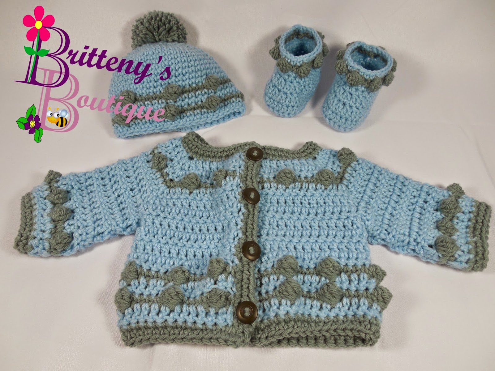 Britteny off the hook babys bouncing ball sweater hat and ever since i started my boutique ive always loved to have a balance of items that can be used for both a boy or a girl and this set totally does the bankloansurffo Choice Image