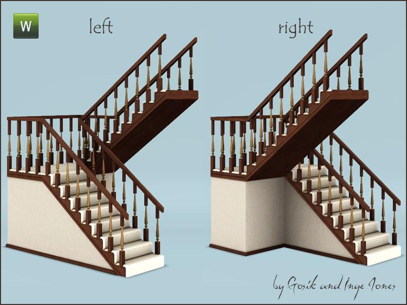 Как в симс 4 сделать маленькую лестницу