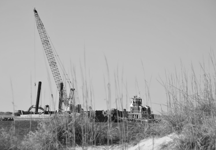 barge and tug