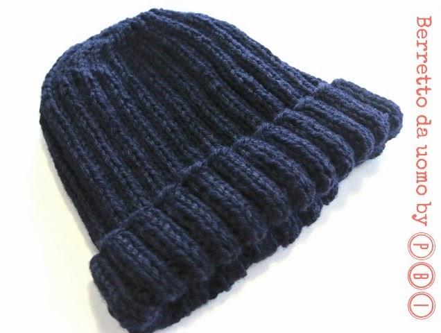 Set sciarpa e cappello da uomo paciuga brega e imbelina - Punto a punto per i bambini di 3 anni ...