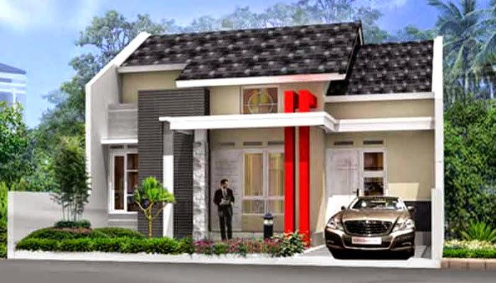 Tampilan mewah desain rumah minimalis 1