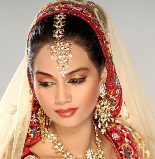 Traditional Wedding Makeup Pictures : Traditional Indian Bridal Makeup - Global Women Panel