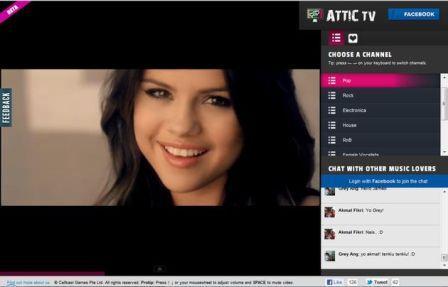 Ver television online gratuita las 24 horas del dia, Attic Tv