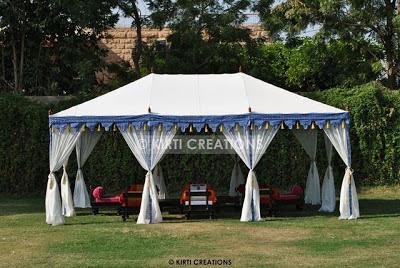 Spacious Garden Tent