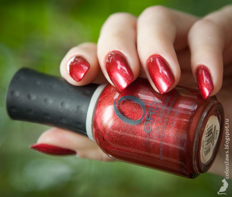 Orly Quintessential Crimson
