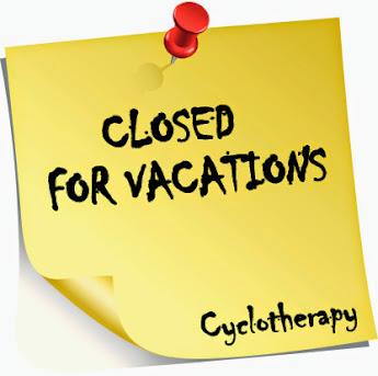Cerrado por vacaciones...