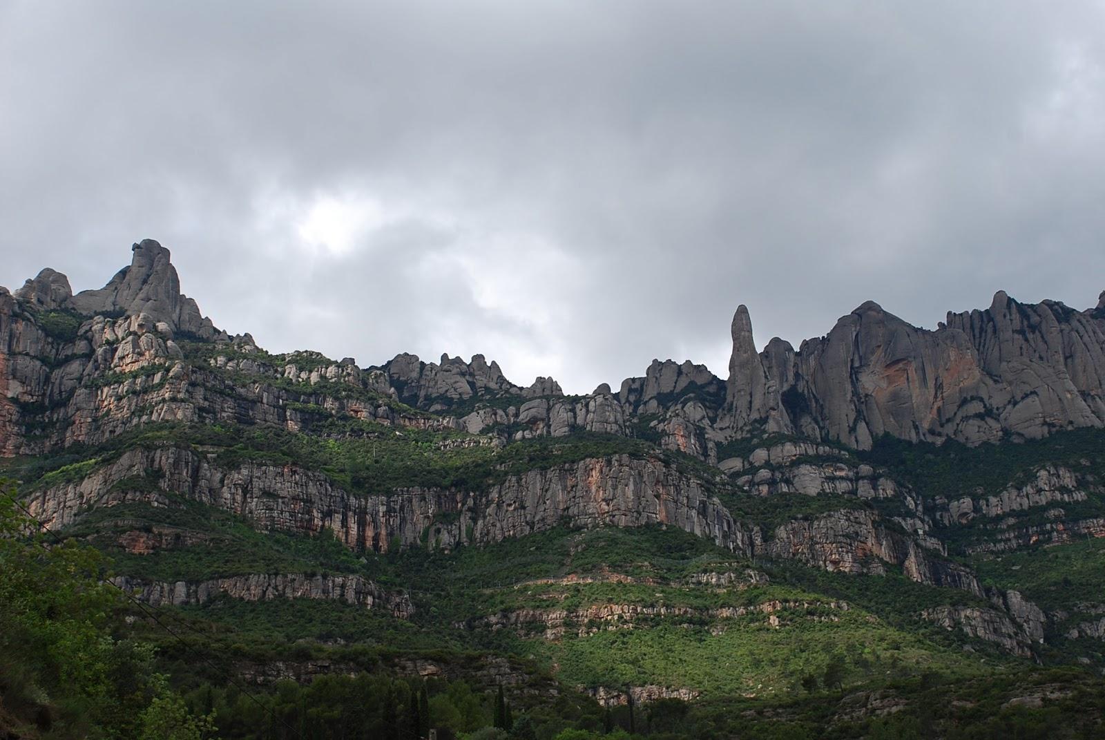 Peque a monta a senderismo en familia de monistrol al monestir de montserrat - Tiempo olesa de montserrat ...