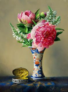 Telas Pintadas Flores