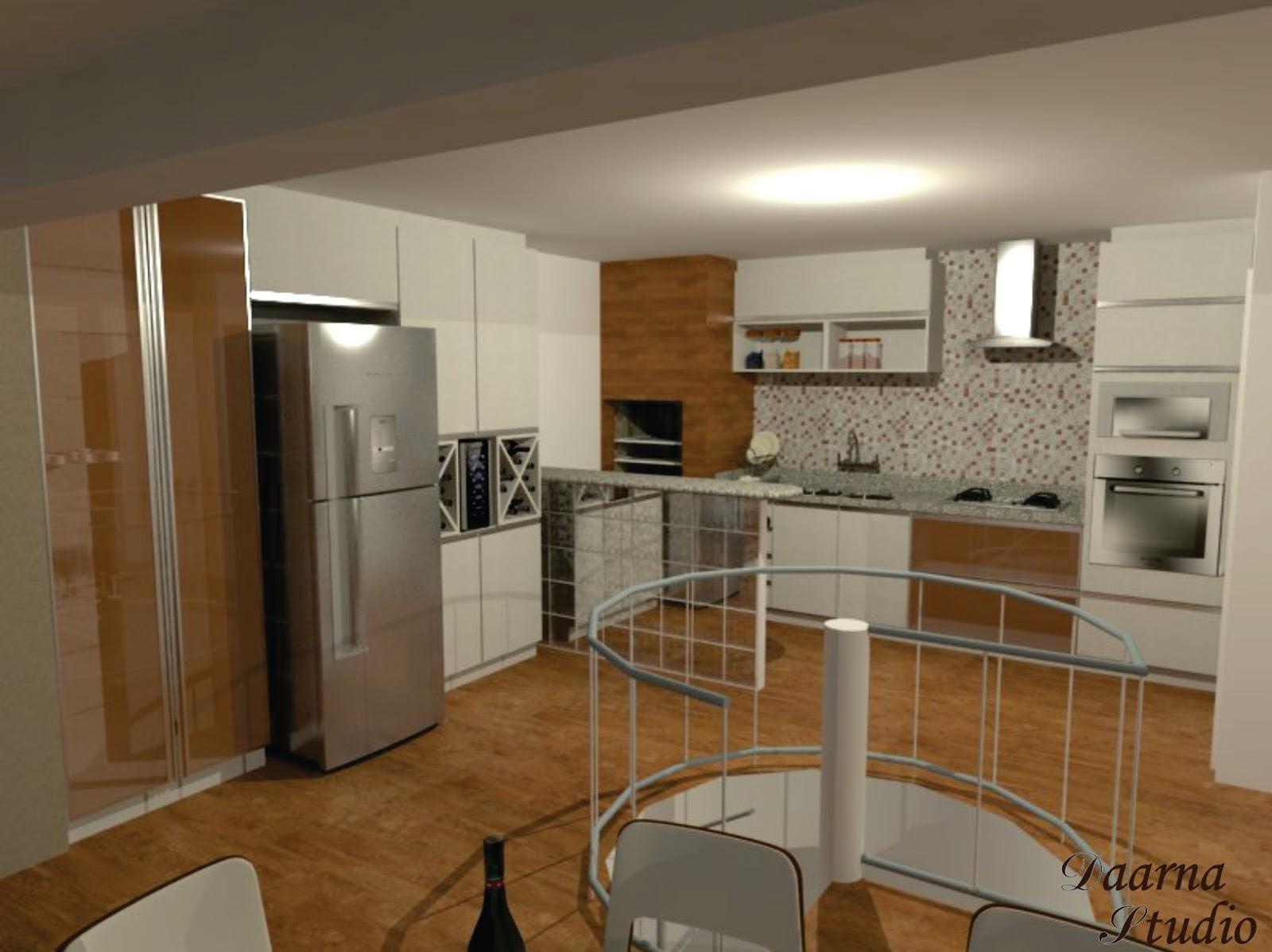 Daarna Arquitetura & Interiores: Projeto de Reforma Cozinha #684828 1600 1198