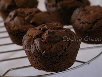 tortine muffins cioccolato