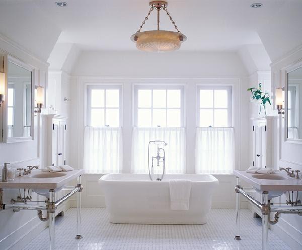 Pretty old houses the master bath progress at last for Pretty master bathrooms