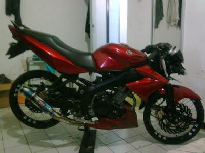 Gambar Modifikasi Motor Yamaha Vixion + Video dan Foto Terbaru