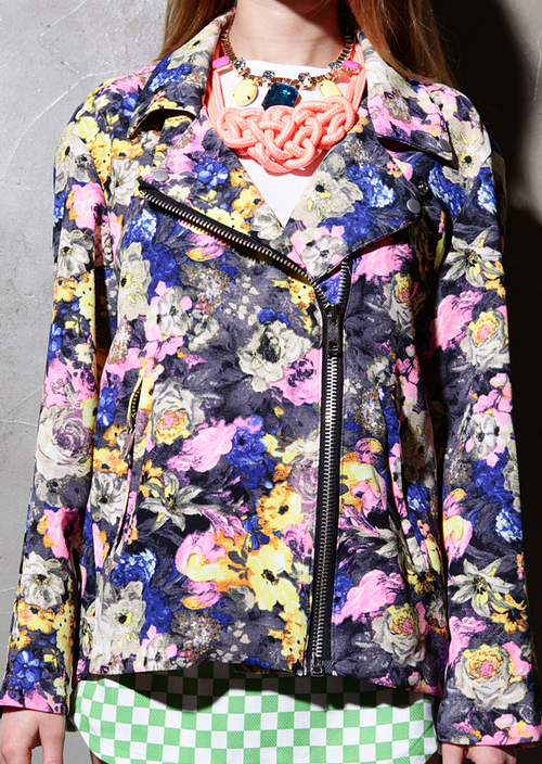 Sassy Floral Rider Jacket