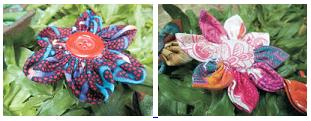 Cara Membuat Kerajinan Tangan Bros Bunga Dari Limbah Kain Perca