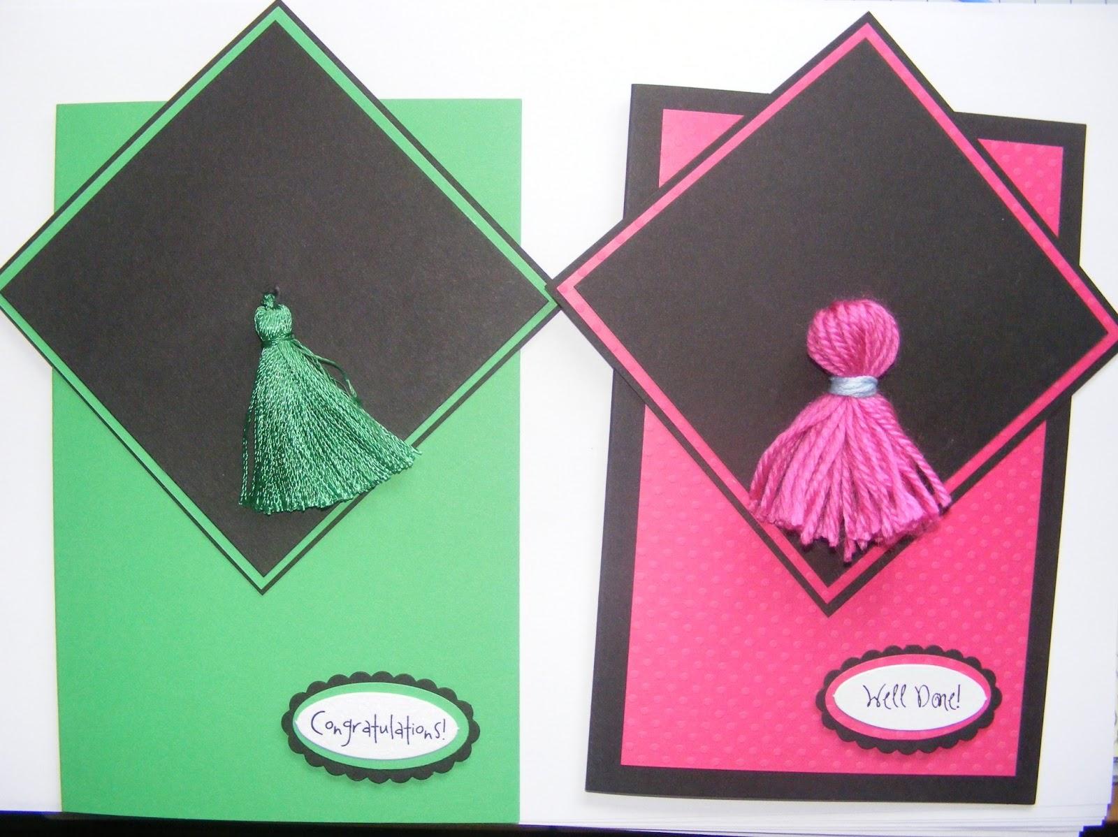 Paulas Handmade Cards Graduation Cards