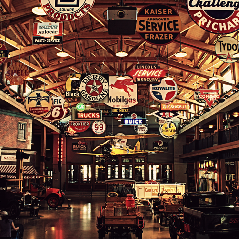 gasoline alley heritage park alberta travel photography series