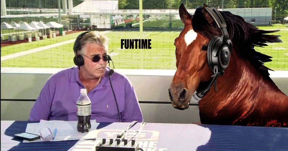mike francesa and secretariat
