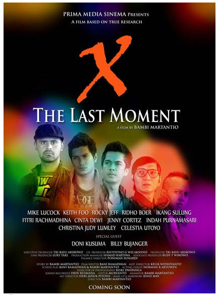 Poster film X-The Last Moment