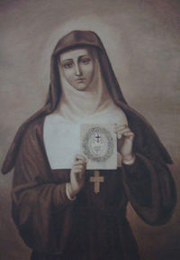una santa católica apostólica romana santa margarete mary alacoque