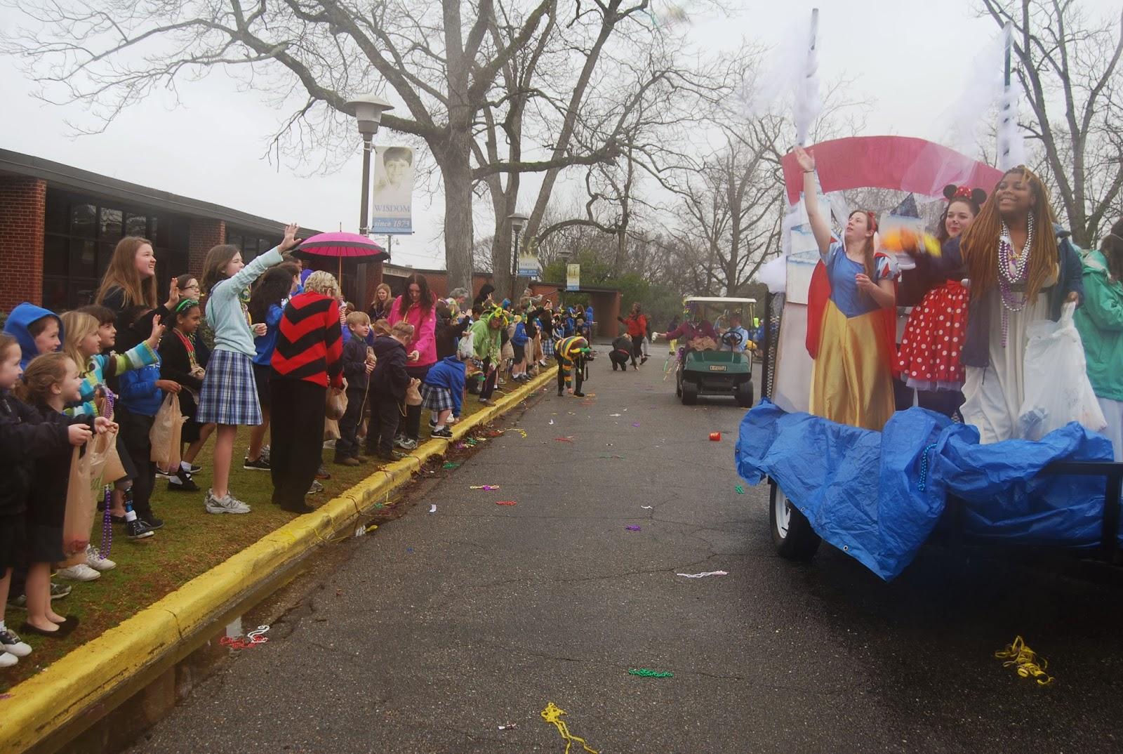 Mardi Gras Comes to Montgomery Catholic's St. Bede Campus 1