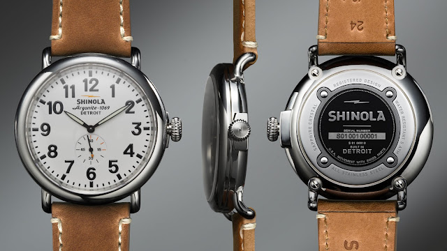Shinola Runwell: Bringing Watchmaking to the Motor City