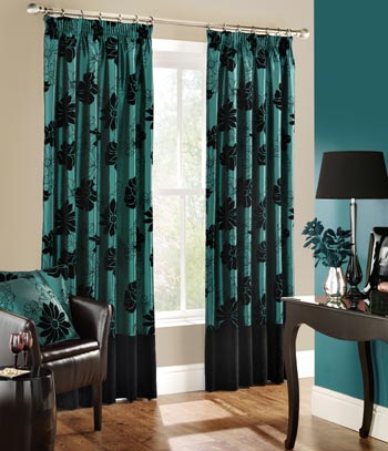 Scarlet  Plum Ready Made Curtains 117Cm X 183Cm £2398  A Inspiration Teal Living Room Curtains Review