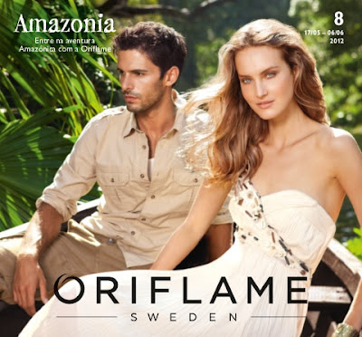 Catálogo 08 de 2012 da Oriflame